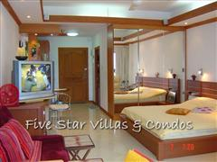 Condominium for rent in Jomtien at View Talay 2A showing the studio