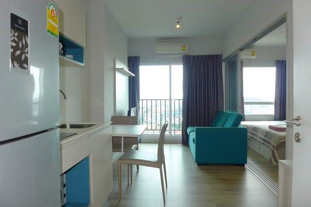 Condominium for sale Central Pattaya looking from the kitchen