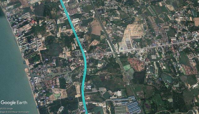 Land for sale Na Jomtien showing the location
