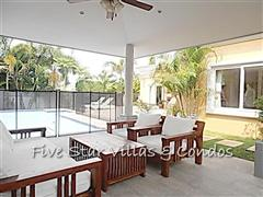 House for rent Pattaya at Siam Royal View showing the Sala