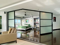 Condominium for sale Ban Amphur showing the master bedroom