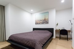 Condominium for sale Pattaya showing the bedroom room and office area