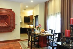 House for sale at Na Jomtien showing the dining and kitchen