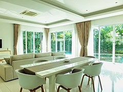 House for Sale at The Vineyard Pattaya showing the dining and living areas