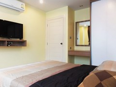Condominium for rent Jomtien Pattaya showing the second bedroom with furniture