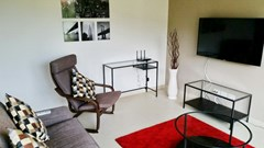 Condominium for rent UNIXX South Pattaya showing the living area