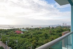 Condominium for Rent Ban Amphur showing the balcony and view