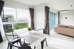 Condominium for Rent Ban Amphur showing the dining and living areas