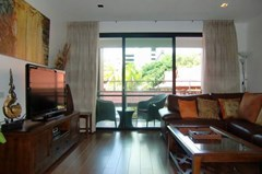 Condominium for Rent Pattaya Beach showing the living area