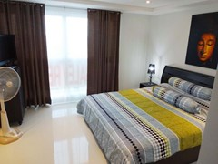 Condominium for rent South Pattaya showing the bedroom