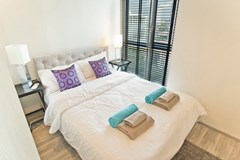 Condominium for sale Wongamat Pattaya showing the second bedroom