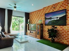 House for rent Huay Yai Pattaya showing the living area