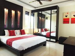House for rent Mabprachan Pattaya showing the fourth bedroom