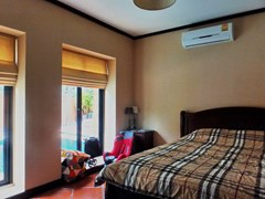 House for sale East Pattaya showing the fourth bedroom with pool view