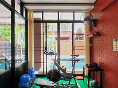 House for sale East Pattaya showing the gym room