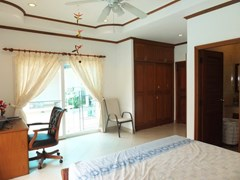 House for sale East Pattaya showing the second bedroom with built-in wardrobes