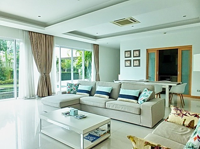 House for Sale at The Vineyard Pattaya showing the open plan concept