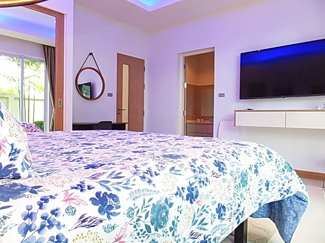 House for Sale at The Vineyard Pattaya showing the second bedroom suite