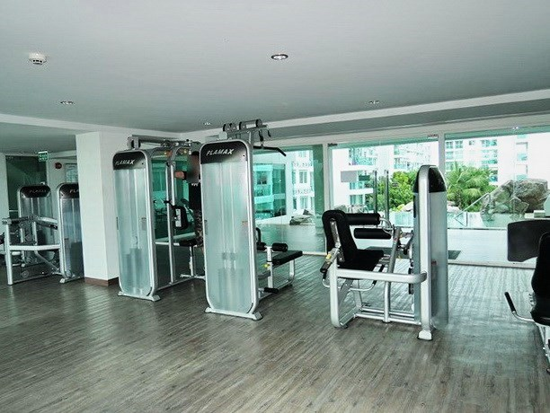 Condominium for rent Jomtien Pattaya showing the gymnasium