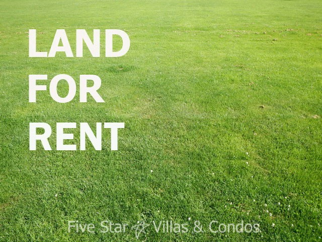 Development land for rent Jomtien Pattaya