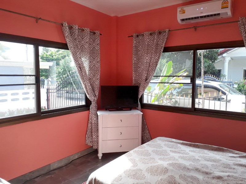 House for Sale East Pattaya showing the second bedroom with furniture